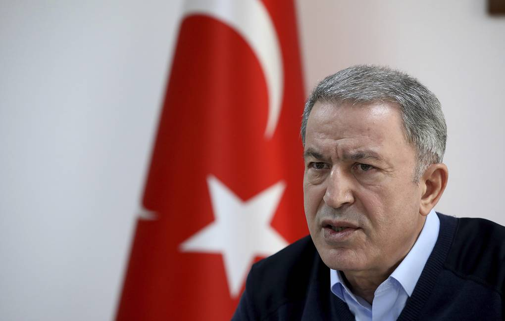 Turkish Defense Minister Hulusi Akar  AP Photo