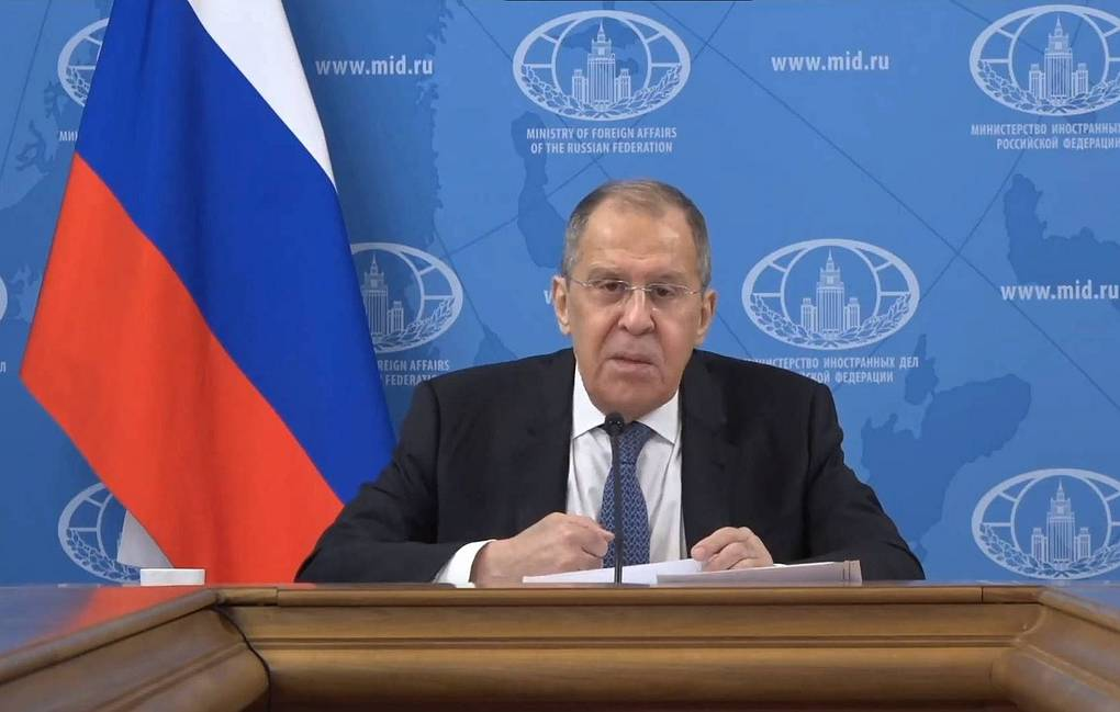 Russian Foreign Minister Sergey Lavrov TASS/Ruptly