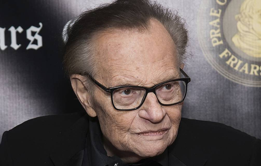 Larry King Charles Sykes/Invision/AP