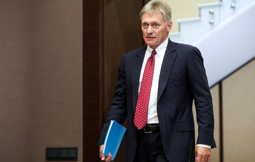 Kremlin Spokesman Dmitry Peskov Mikhail Metzel/TASS News Agency Pool Photo via AP