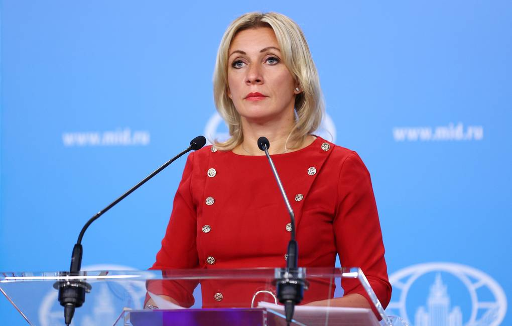 Russian Foreign Ministry Spokeswoman Maria Zakharova Russian Foreign Ministry Press Office/TASS