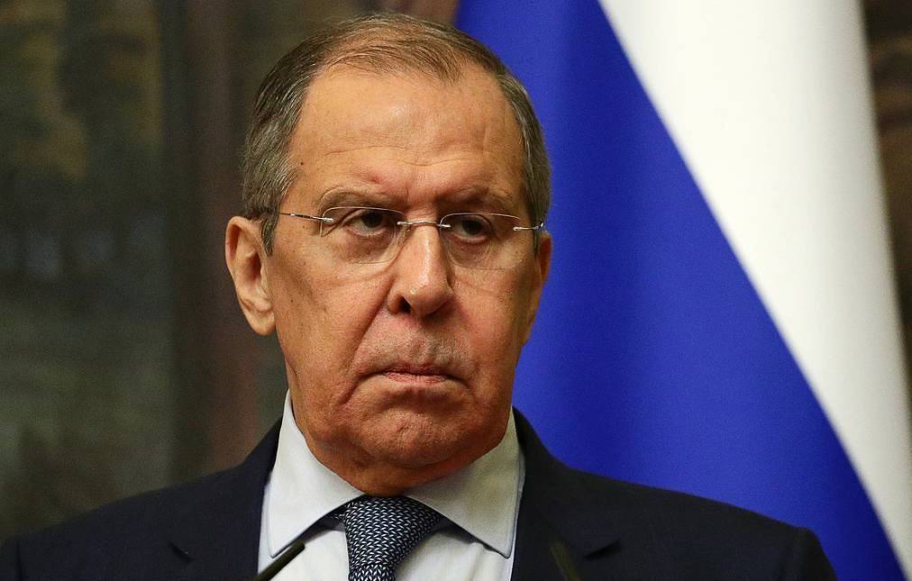 Russian Foreign Minister Sergey Lavrov Russian Foreign Ministry/TASS