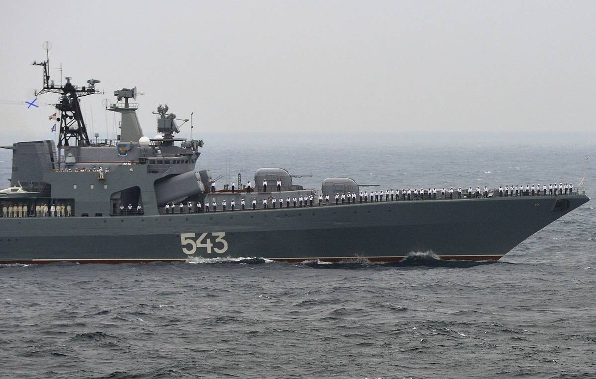 Russia's Pacific Fleet cruise missile frigate to take to sea after upgrade