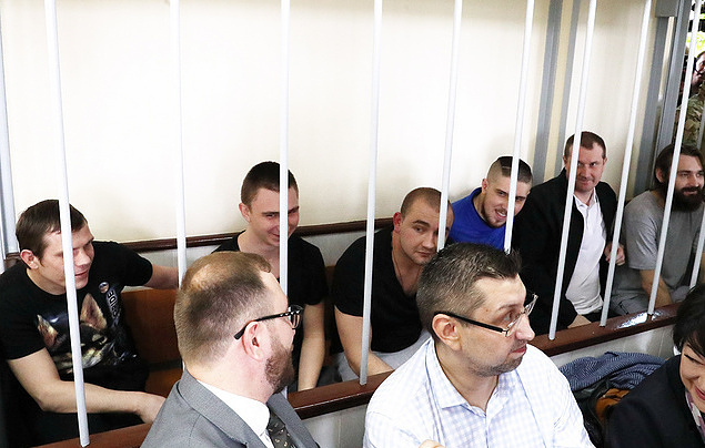 Moscow court prolongs arrest for six out of 24 Ukrainian sailors detained in Kerch Strait