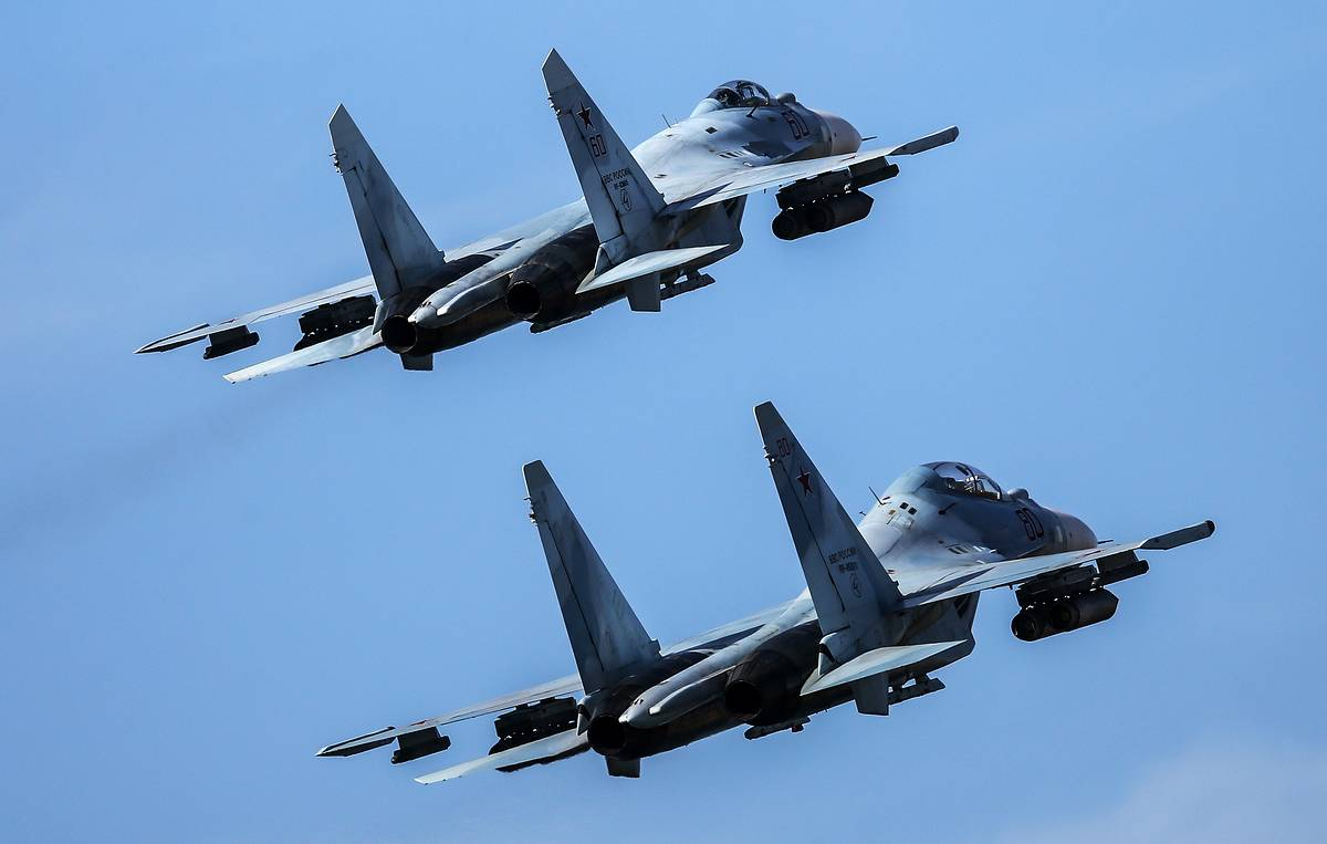 Russian fighter jets scrambled 20 times on interception missions in past week