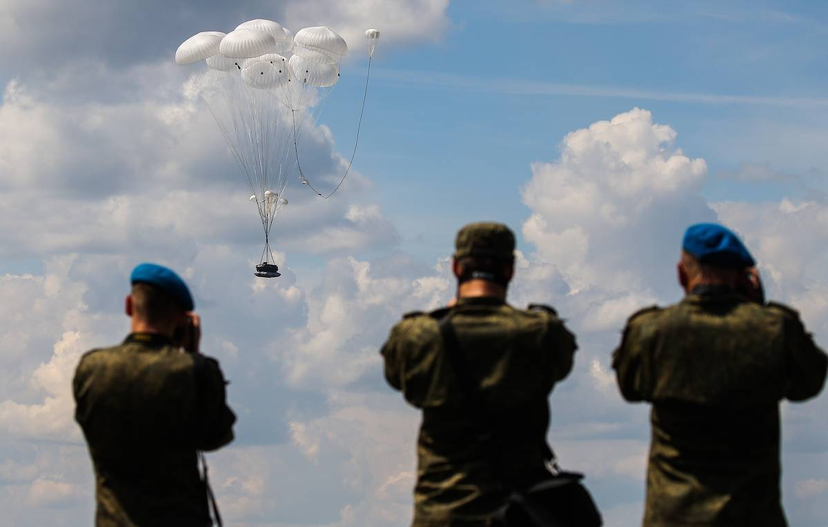 Airborne regiment with combat vehicles to be airdropped during Tsentr-2019 drills