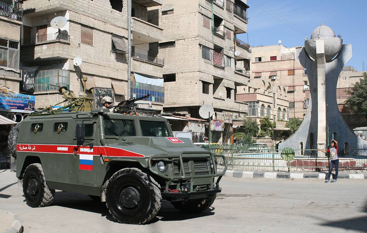 Russian military working to prevent conflicts in government-controlled regions of Syria