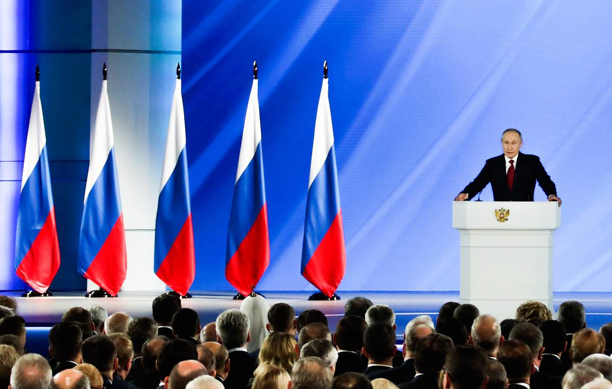 Presidential Address is to speed up solution of national tasks – Putin