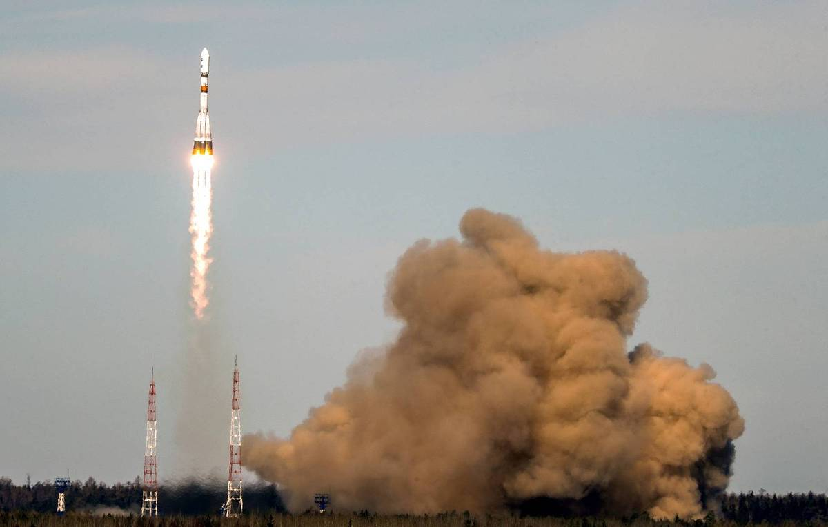 Soyuz-2.1b rocket with military satellite takes off from Plesetsk Cosmodrome - TASS