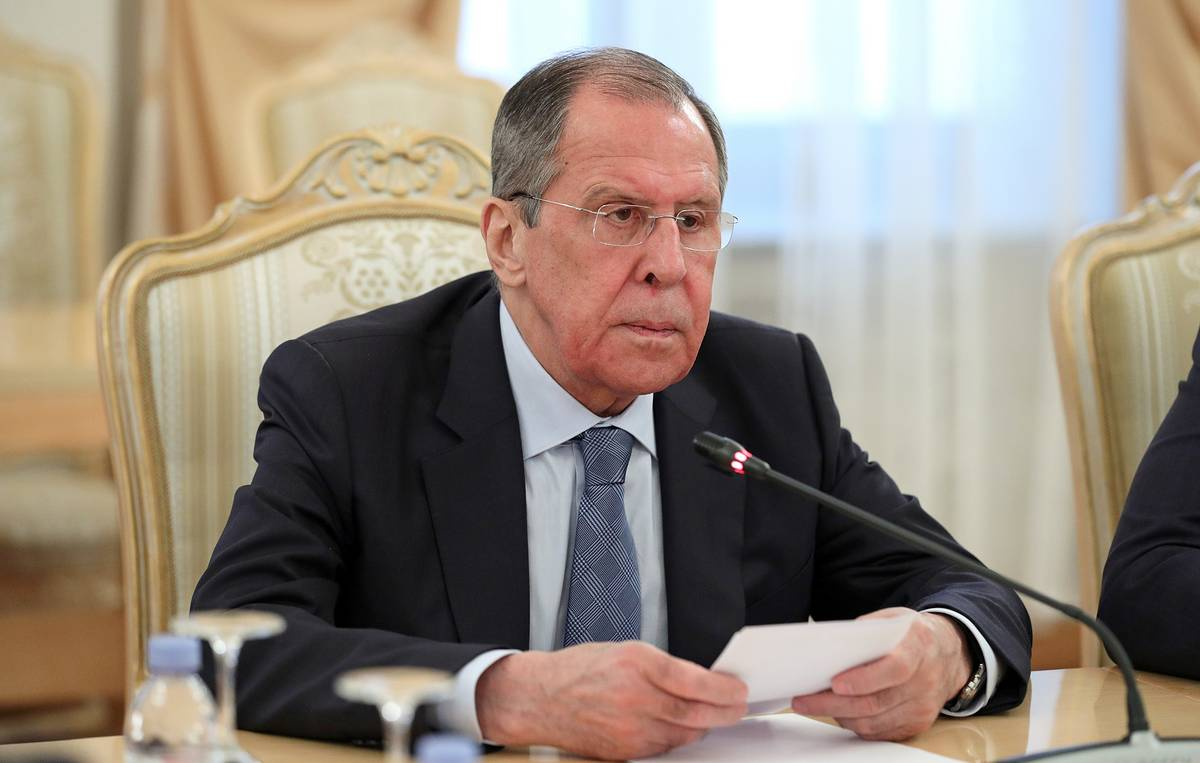 Russia welcomes moves to re-establish Libya's diplomatic presence in Damascus, says Lavrov