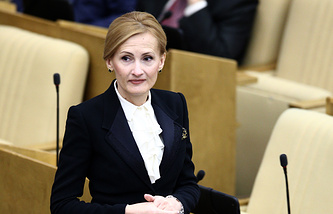 Irina Yarovaya, Chairperson of the State Duma Security and Anti-corruption Committee