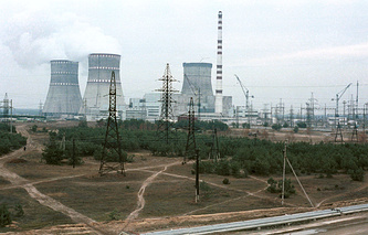 Nuclear power plant in Ukraine (archive)