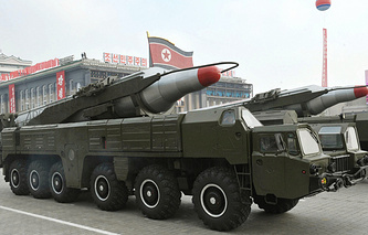 North Korean missiles (archive)