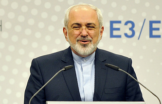 The Iranian delegation will be headed by Minister of Foreign Affairs Mohammad Javad Zarif (photo)