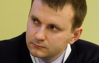 Maxim Oreshkin, director of the Finance Ministry's long-term strategic planning department