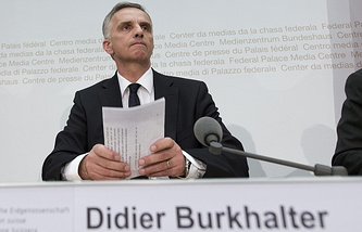 OSCE Chairperson-in-Office Didier Burkhalter