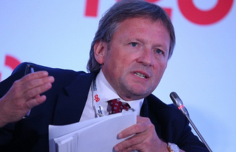 Russian business ombudsman Boris Titov