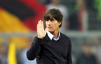 Germany's head coach Joachim Low