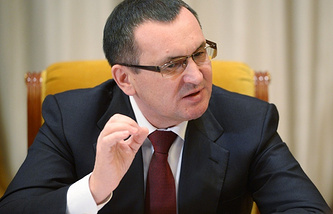 Russian Minister of Agriculture Nikolay Fyodorov