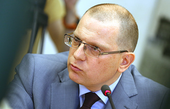 Russian human rights commissioner Konstantin Dolgov