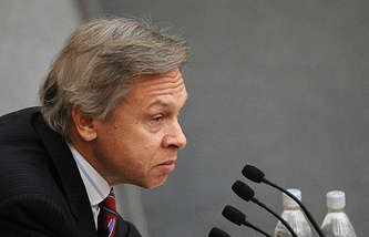 Alexey Pushkov, head of the Russian delegation to PACE