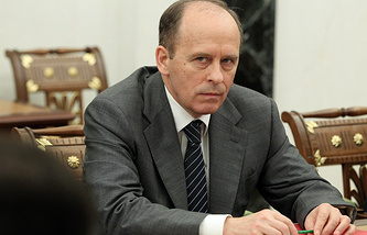 Federal Security Service (FSB) chief Alexander Bortnikov