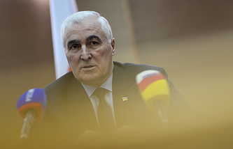 President of South Ossetia, Leonid Tibilov