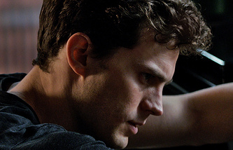 Scene from the movie 'Fifty Shades of Grey'