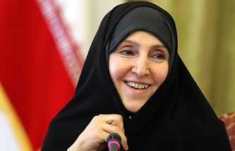 Marzieh Afkham, a spokesperson for the Iranian Foreign Ministry