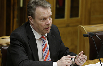 President of the PA OSCE Ilkka Kanerva