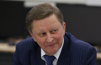 Russia's chief of the Kremlin staff Sergey Ivanov