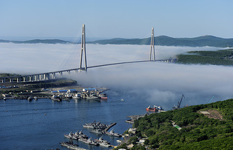 Russia's Far Eastern city of Vladivostok