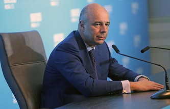 Russian Finance Minister Anton Siluanov