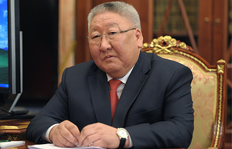 Head of Russia's Republic of Sakha (Yakutia) Yegor Borisov