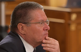 Economic Development Minister Alexey Ulyukayev