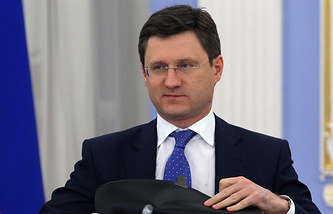 Russia's Energy Minister and co-chairman of the Russian-Iranian intergovernmental commission Alexander Novak