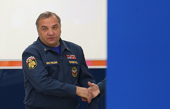 Russian Emergency Situations Minister Vladimir Puchkov