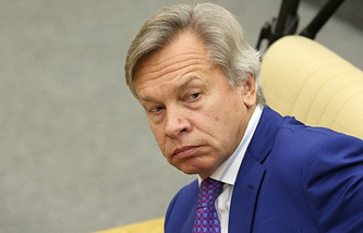 Head of the International Affairs Committee of the State Duma Alexey Pushkov