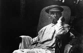 One of the last photos of Vladimir Lenin, 1923