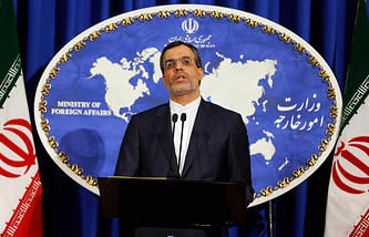 Iranian Foreign Ministry's official spokesman Hossein Jaber Ansari