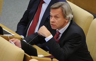 Head of the International Affairs Committee of the Russian State Duma Alexey Pushkov