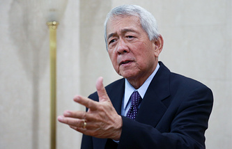 Secretary of Foreign Affairs of the Philippines Perfecto Yasay Jr.