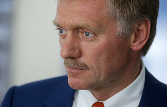 Russian presidential spokesman, Dmitry Peskov