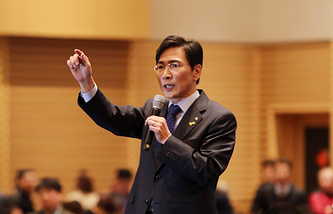 Governor of the South Chungcheong province Ahn Hee-jung