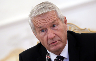 Secretary General of the Council of Europe Thorbjorn Jagland
