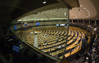 European parliament in Brussels, Belgium