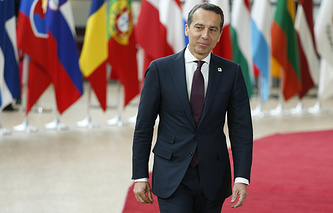 Austrian Federal Chancellor Christian Kern