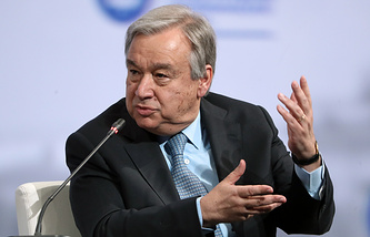 United Nations Secretary General Antonio Guterres