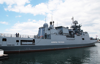 Black Sea fleet frigate Admiral Grigorovich