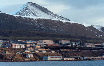 A view of Barentsburg